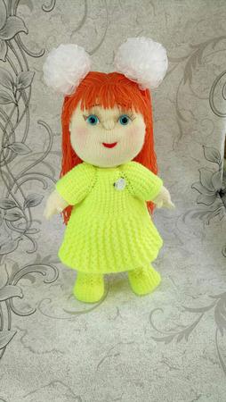 """Кукла """"Света"""" ручной работы на заказ"""
