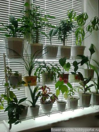 """Стеллаж для растений и рассады """"Мечта Цветомана"""" ручной работы на заказ"""