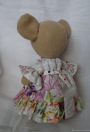 Медведица мама ручной работы на заказ