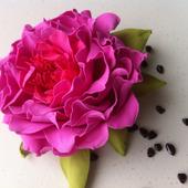 МК - цветы из фоамирана