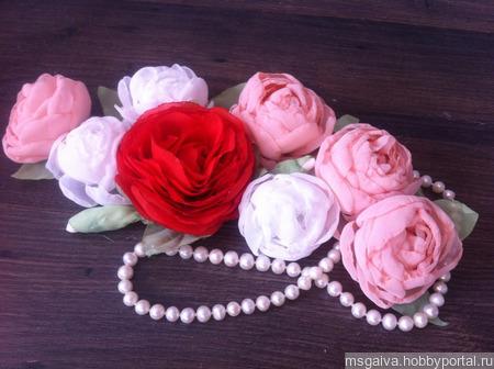 МК - цветы из фоамирана ручной работы на заказ