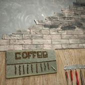 Декоративная плитка из гипса