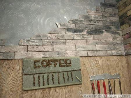 Декоративная плитка из гипса ручной работы на заказ