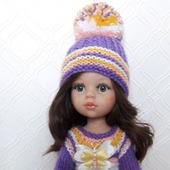 """Одежда для кукол Паола Рейна - комплект  """"Крокусы"""""""