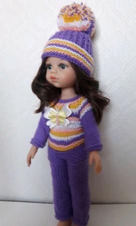 """Одежда для кукол Паола Рейна - комплект  """"Крокусы"""" ручной работы на заказ"""
