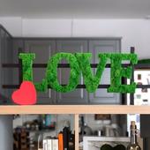 Интерьерные буквы LOVE