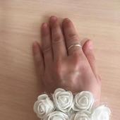 Повязка и резинки для волос с цветами
