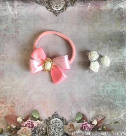Нежная повязка для самых маленьких ручной работы на заказ