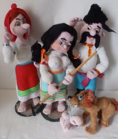 Подарок - композиция из игрушек ручной работы на заказ