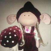Интерьерная кукла зльф