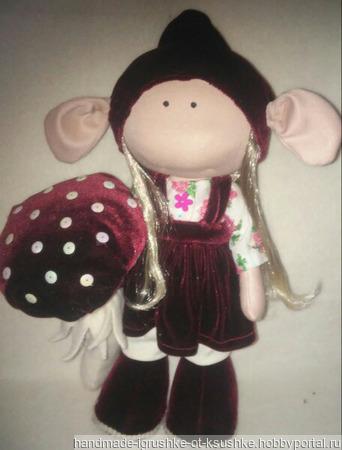 Интерьерная кукла зльф ручной работы на заказ