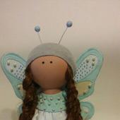 Интерьерная кукла бабочка