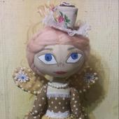 Интерьерная кукла Кофейная Фея