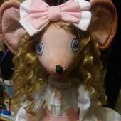 Интерьерная игрушка Мышка Светулька