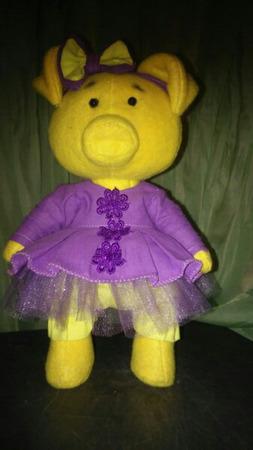 Интерьерная игрушка Свинка Мякушка ручной работы на заказ