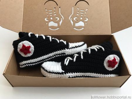 Носки-кеды converse ручной работы на заказ