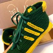 Носки-кеды adidas