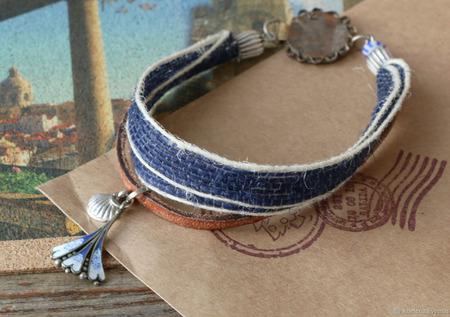 Сет браслетов «Азулежу» ручной работы на заказ
