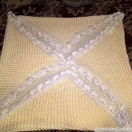 Плед - одеяло ручной работы на заказ