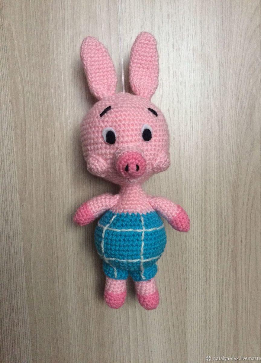вязаная игрушка пятачок купить в интернет магазине Hobbyportalru