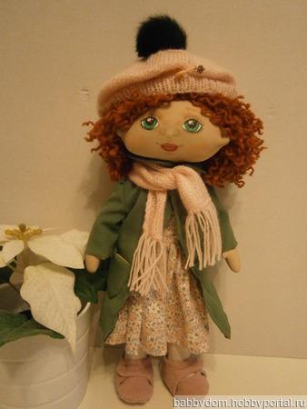 Кукла текстильная игровая ручной работы на заказ