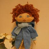 Кукла текстильная игровая