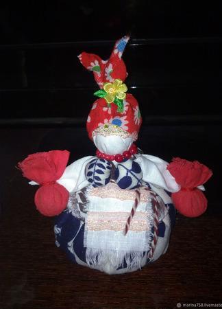 Народная кукла Оберег Кукла кубышка травница ручной работы на заказ