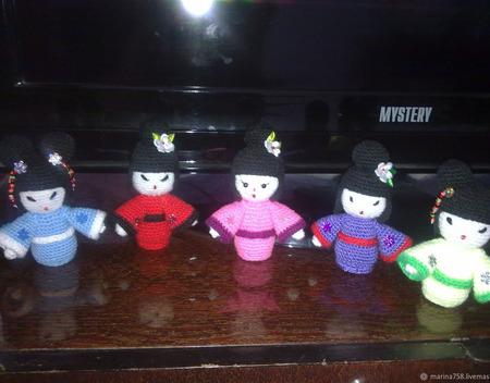 Куклы  Кокеши ручной работы на заказ