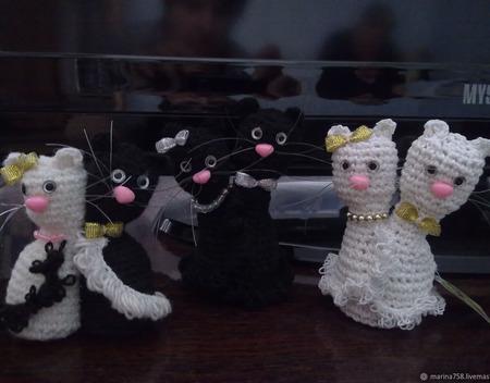 Коты Неразлучники ручной работы на заказ