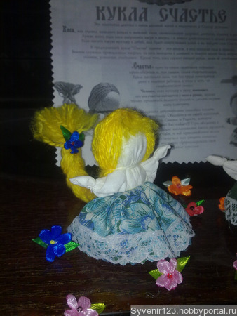 Кукла на счастье ручной работы на заказ