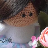 Мастер-класс по вязаной куколке 20 см