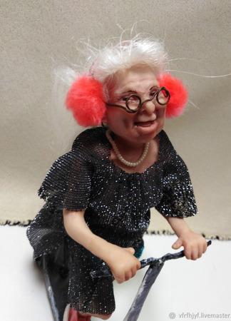 """Коллекционная кукла """"Ветер перемен"""" ручной работы на заказ"""