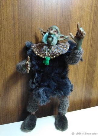 Коллекционная кукла Чудо-Юдо ручной работы на заказ