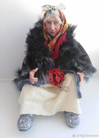 Коллекционная кукла Марфушечка-Душечка ручной работы на заказ