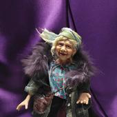 Коллекционная кукла Тетя Софа