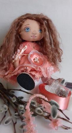 Авторская кукла Злата ручной работы на заказ