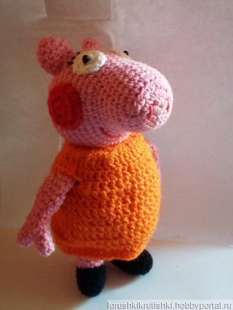 Мама свинка из мультфильма свинка Пеппа ручной работы на заказ
