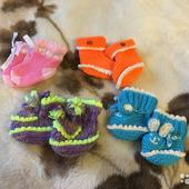 Пинетки и носочки для малышей