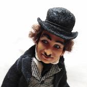 Коллекционная кукла Чарли Чаплин