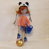 Кукла девочка-подросток Панда