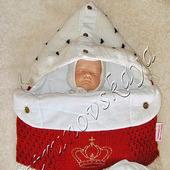 """Конверт """"Император"""" на выписку для новорожденных"""