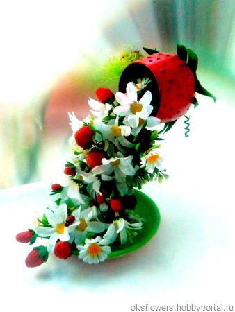 Парящие  фруктовые кружечки ручной работы на заказ