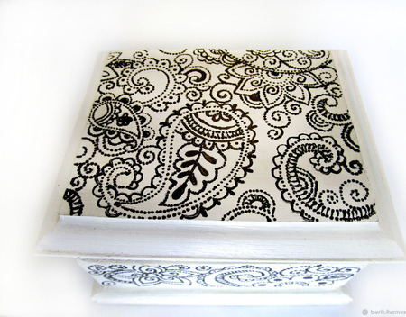 Шкатулка сказочные мотивы ручной работы на заказ