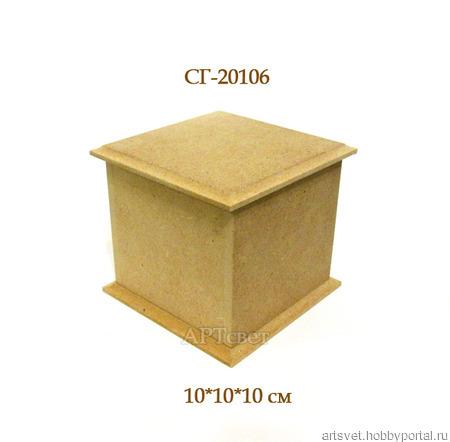 106 Короб для... Заготовки для декупажа ручной работы на заказ