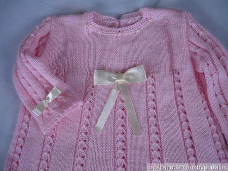 """Платье для малышки """"Нежность"""" ручной работы на заказ"""