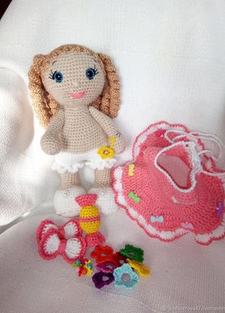 Кукла для развития мелкой моторики ручной работы на заказ