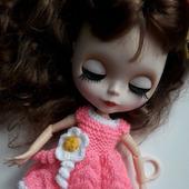 Вязаное платье для Блайз