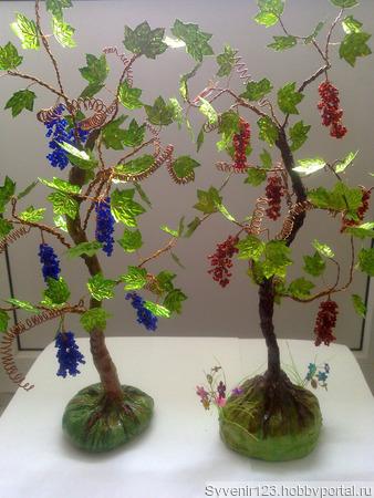 Виноград ручной работы на заказ