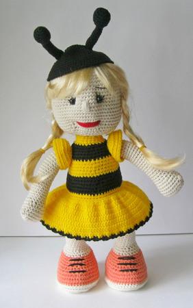 Кукла Пчелка ручной работы на заказ