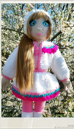 Девушка-весна ручной работы на заказ